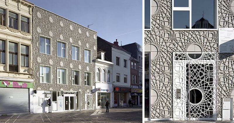 Декоративный фасад для здания