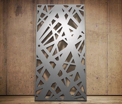Фасадные панели с узором из алюминия
