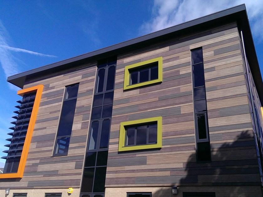 Металлические панели – кольчуга здания