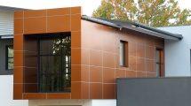 Облицовка фасада металлокассетами. Когда нужно реконструировать ветхий фасад или придать законченный вид новому зданию, прибегают к облицовке фасада металлокассетами
