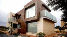 Облицовка фасада керамогранитом. Всё дело в выразительном внешнем виде и свойствах материала