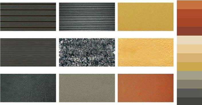 Облицовка фасада плиткой. Керамогранитная плитка чаще бывает в форме квадрата с длиной одной стороны 0,5-0,9 метров