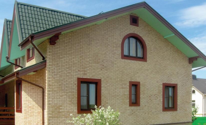 фасадные панели с клинкерной плиткой