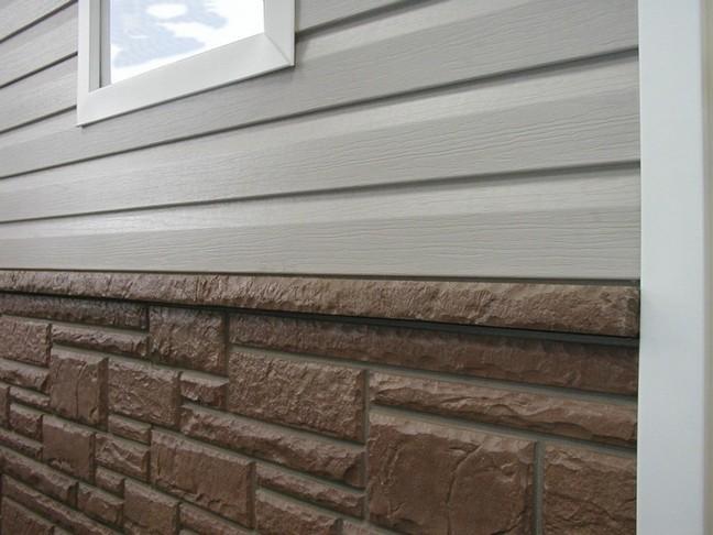 виниловые панели для фасада