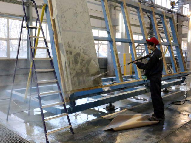 производство фасадных панелей