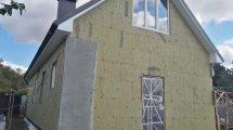 Технология утепления фасадов ватой