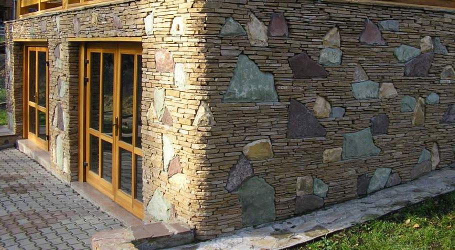 камень для отделки фасада