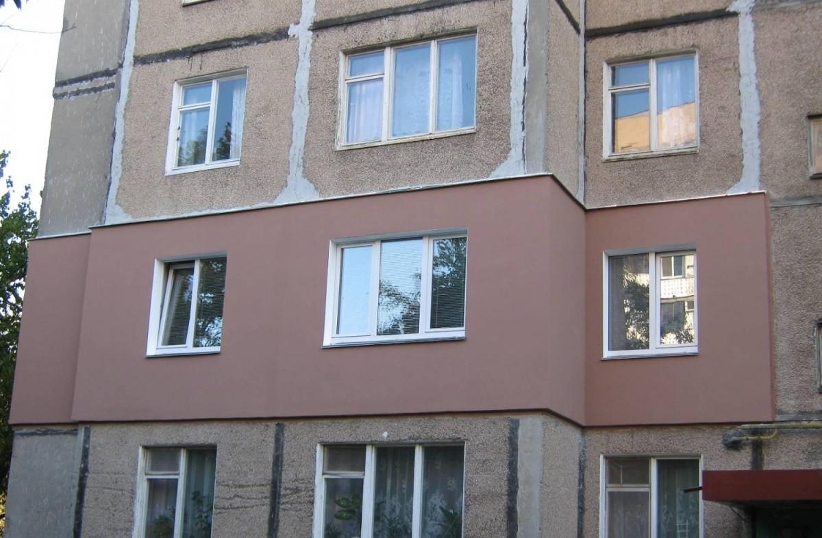утепление фасада отдельной квартиры