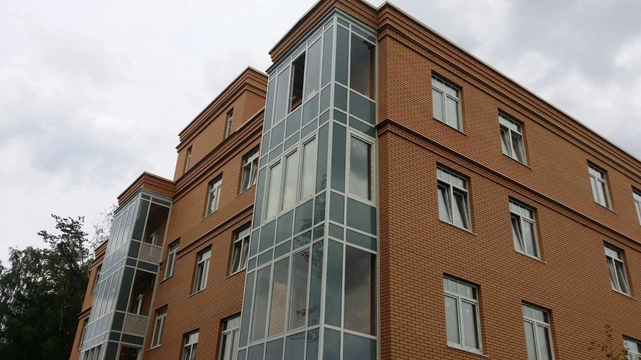 Фасадное остекление балкона