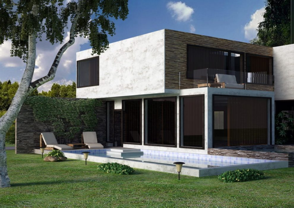 виды отделки фасадов частных домов