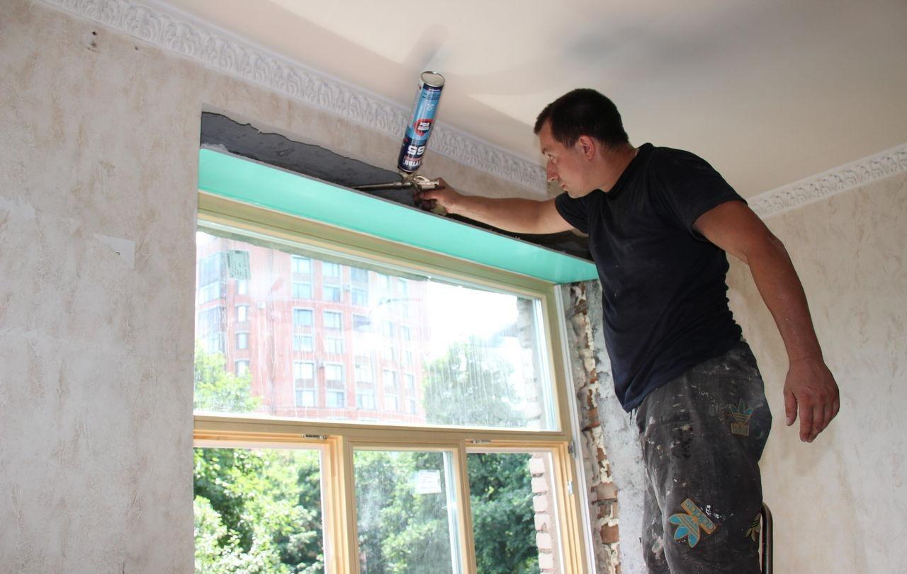 Процедура утепления деревянного окна