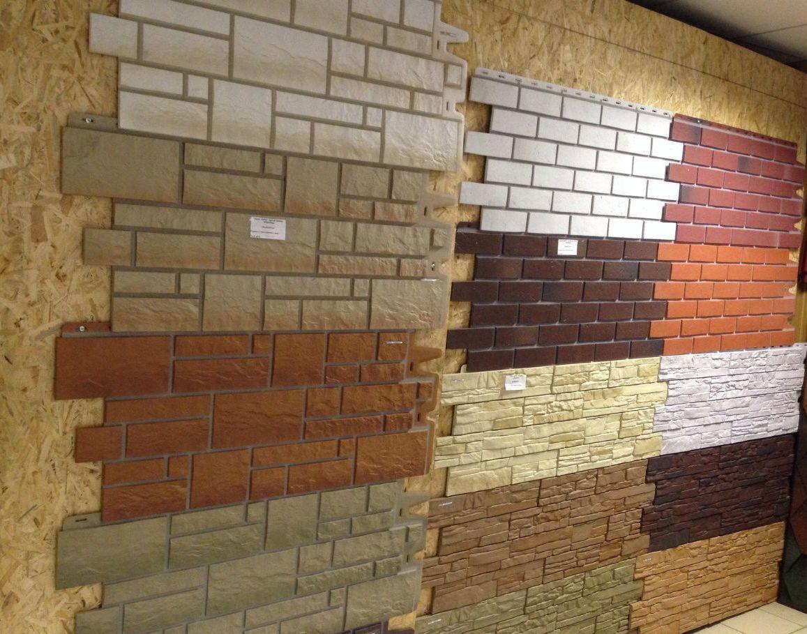 Разнообразие фасадных панелей