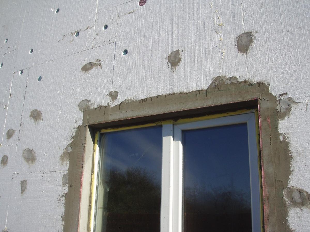 утепление фасада полистиролом