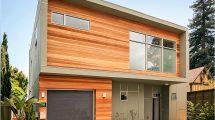 отделка фасада частного дома панелями под кирпич
