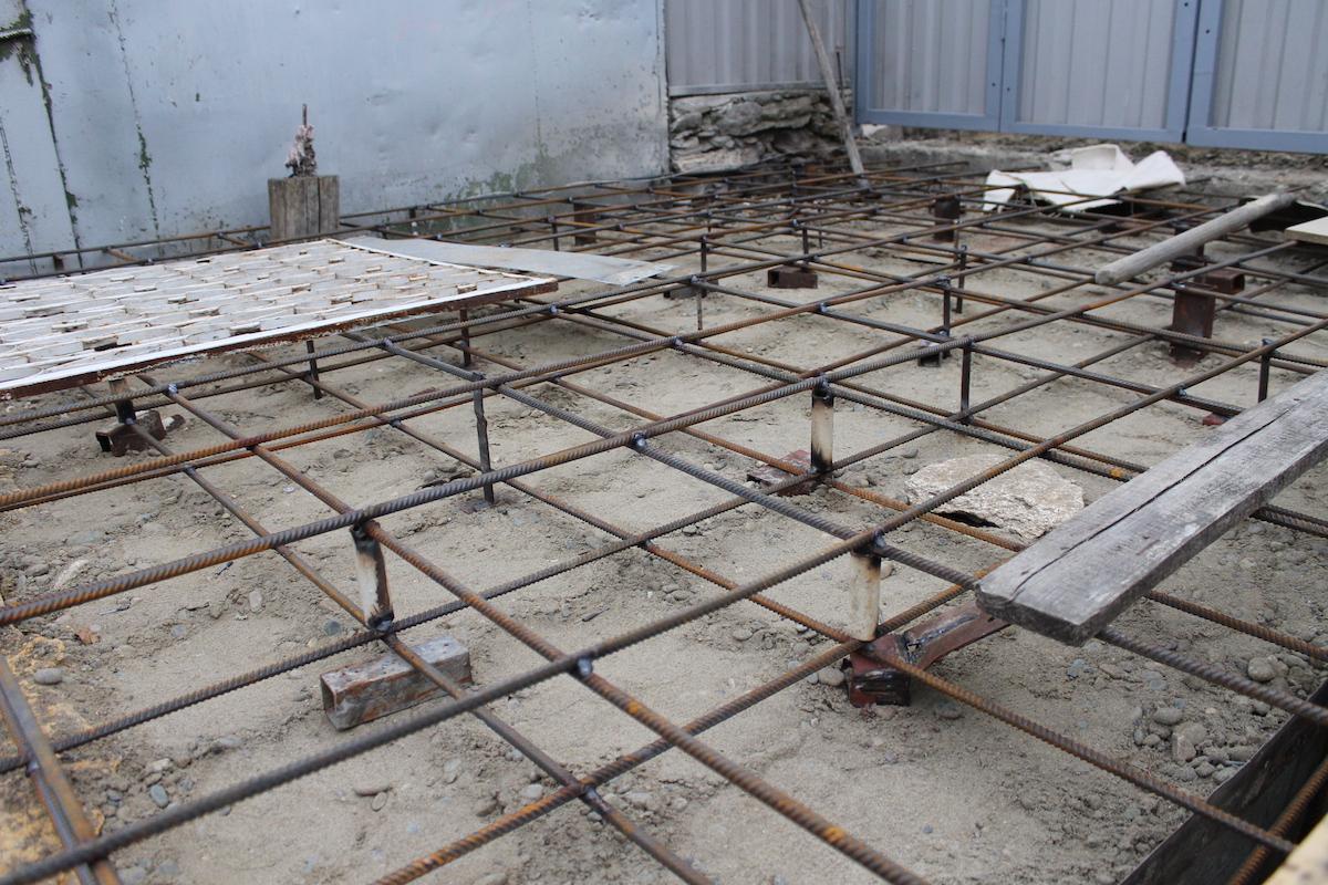 опалубка под бетонное покрытие