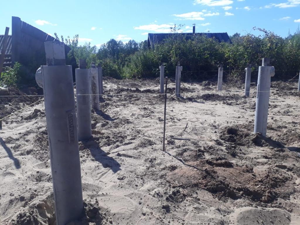 бетонные винтовые сваи