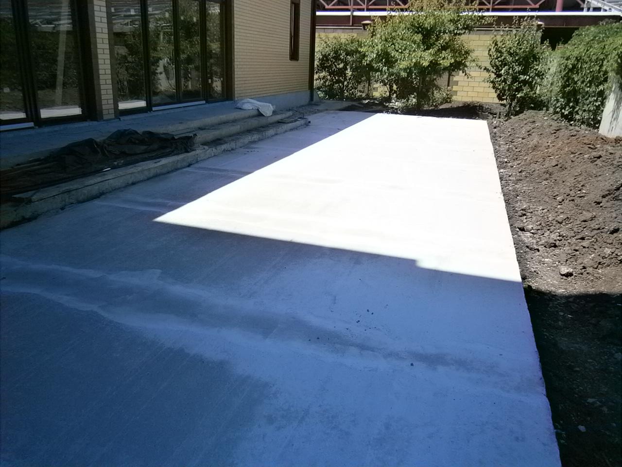 Как правильно заливать бетон во дворе