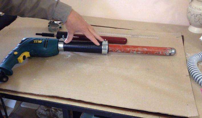 Насадка для вибратора для бетона своими руками