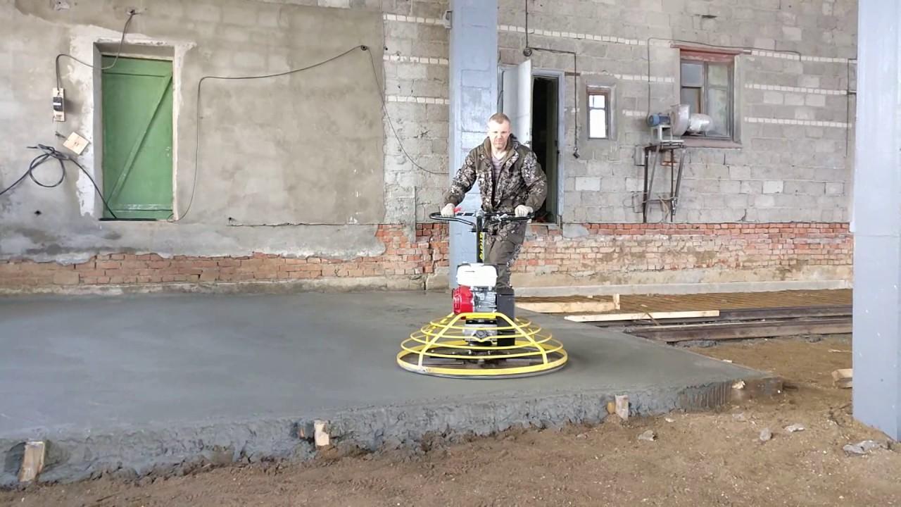 вертолет для затирки бетона