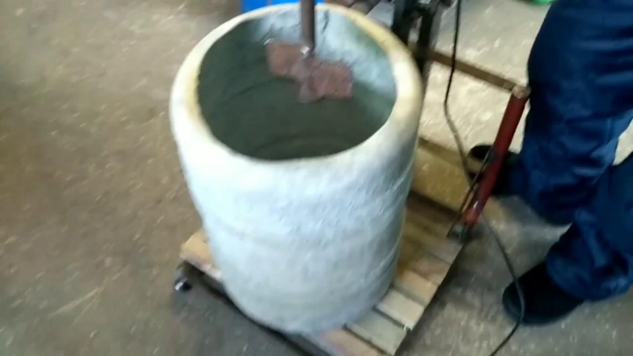 вибрационная бетономешалка
