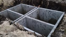 бетонный септик
