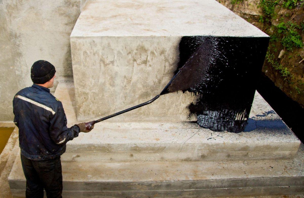 Обработка бетона битумом заказать машину бетона для фундамента цена