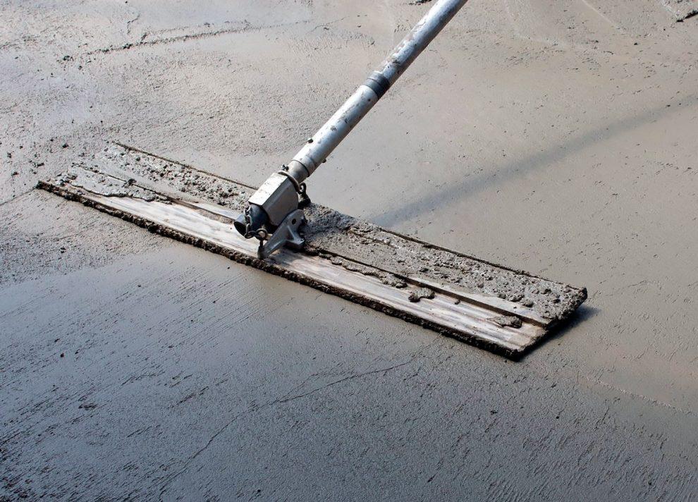 гладилка по бетону
