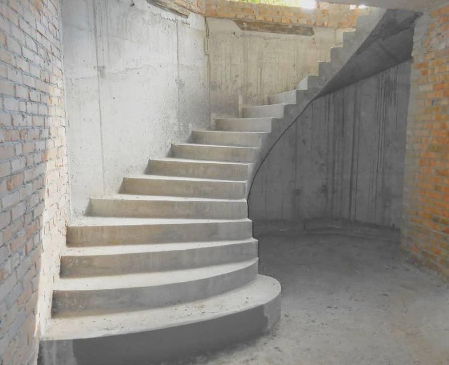 Бетон лестница марки бетона с гравием