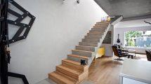 железобетонной лестницы