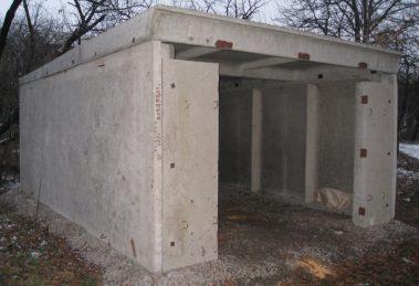 железобетонный гараж
