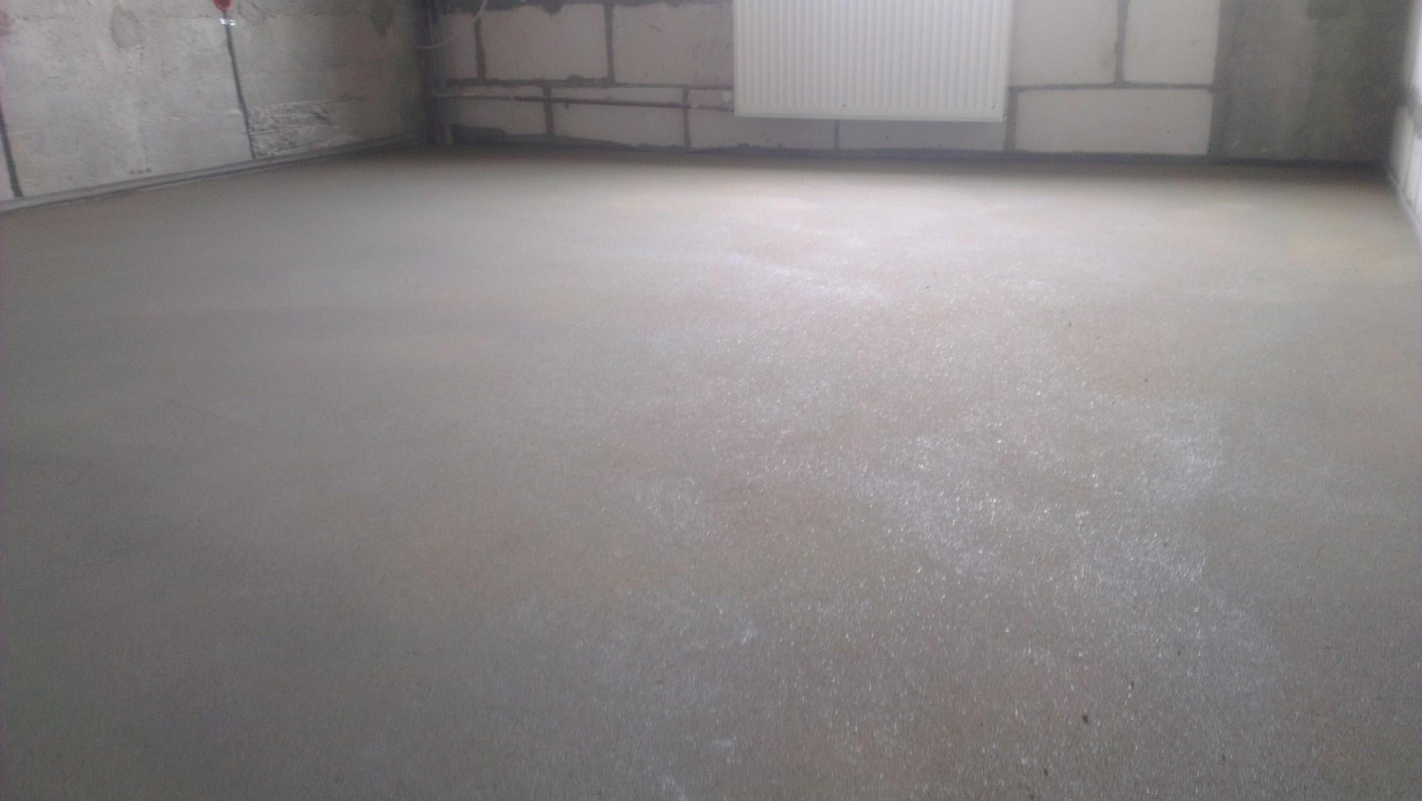 деревянный пол по бетонному основанию