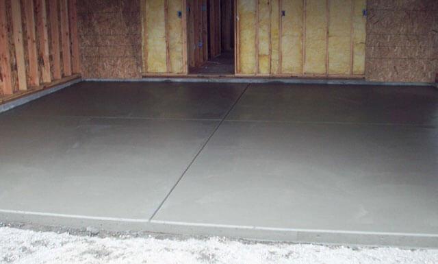 как залить бетоном пол в подвале