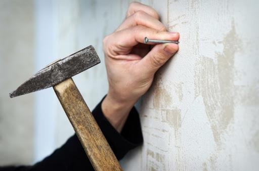 как забить гвоздь в бетон