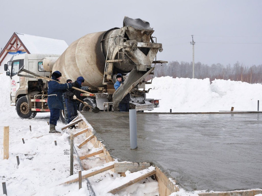 Зимний бетон применение легких бетонов