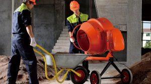 как очистить бетономешалку от цемента